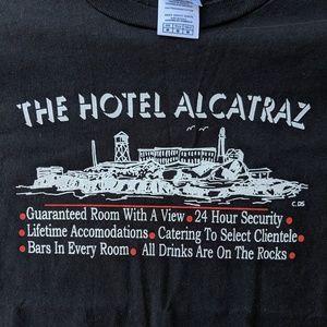 Shirts - Vintage The Alcatraz Hotel t-shirt
